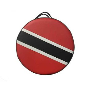 Pan 2000 Steelpan Case with Trinidad Flag and Shoulder Strap