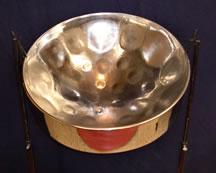 definite pitch d lead or tenor steelpan steel drum