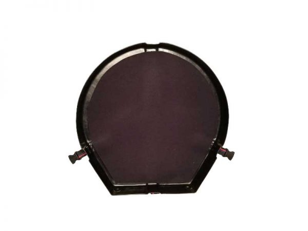 Humes & Berg Enduro Seconds Steelpan Hard Case Black Lid